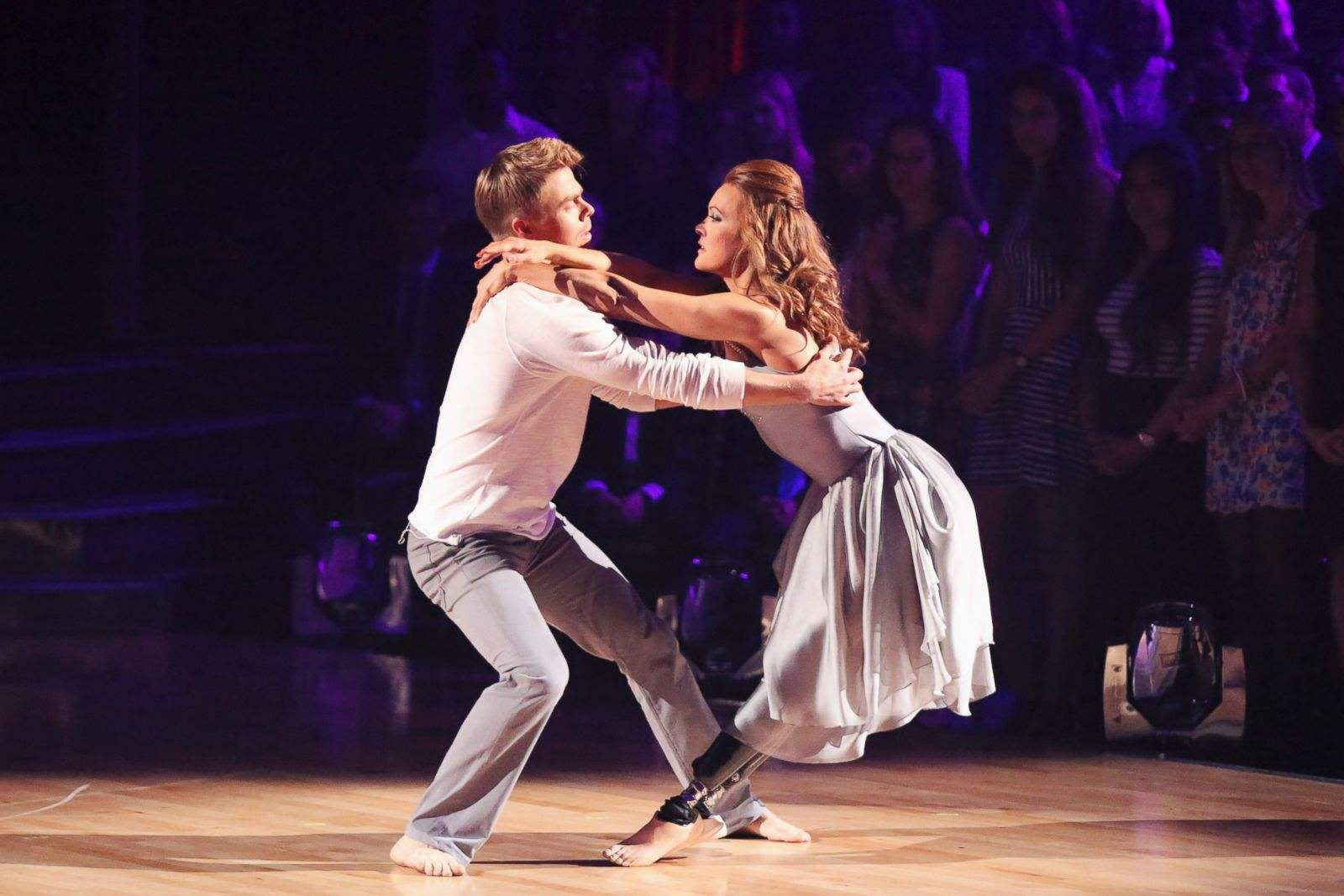 Amy Purdy and Derek Hough on Dancing with the Stars