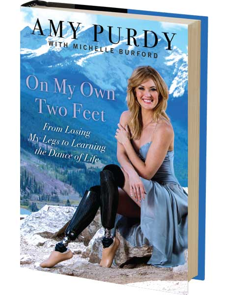 Amy Purdy On My Own Two Feet Pre-Book